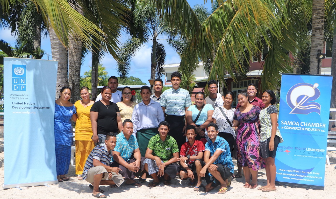 Young entrepreneurs meet in Savai'i to strengthen business ethics and tackle corruption