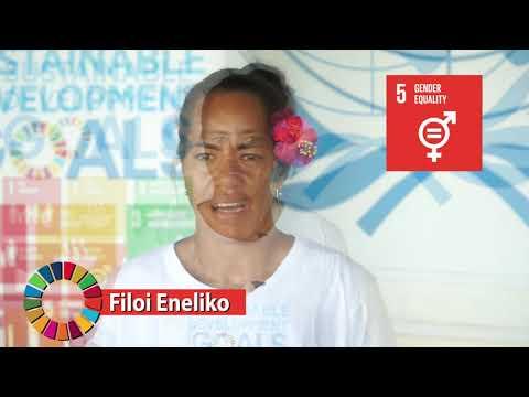SDG 5 Gender Equality Message : Filoi Eneliko- Breaking barriers in Sports