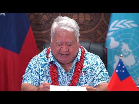 Prime Minister of Samoa - UN Day Message