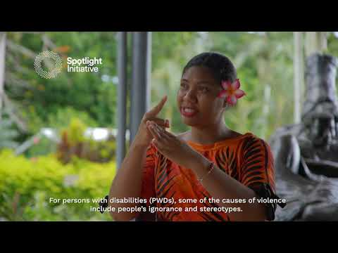 SPOTLIGHT INITIATIVE 16 Days of Healing Campaign : Perspectives from Persons with Disabilities on Ending Violence on Women and Girls.