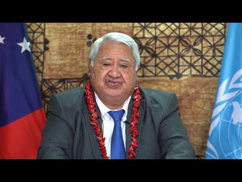 Samoa Prime Minister United Nations General Assembly
